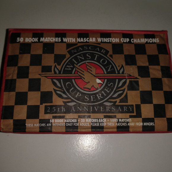 Collectible Nascar Matches Sealed